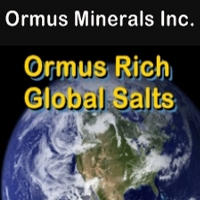 Ormus Minerals Ormus Rich Global Salts
