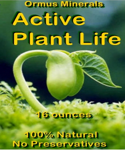 Ormus Minerals Active Plant Life