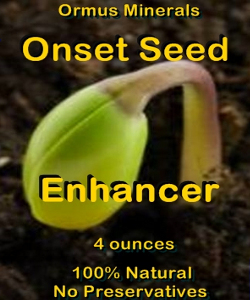 Ormus Minerals Onset SEED Enhancer
